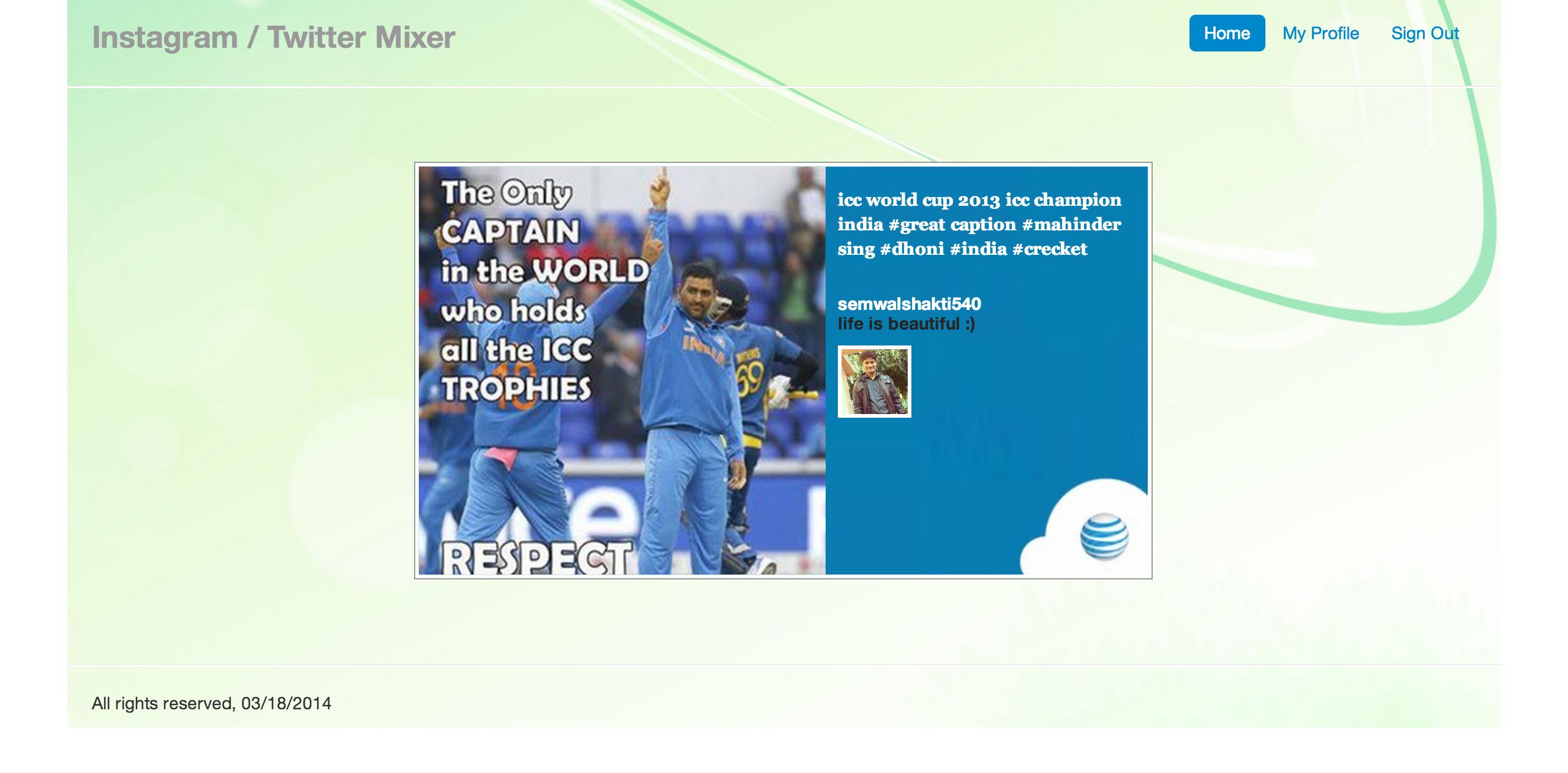 Instagram Twitter App for Ipads