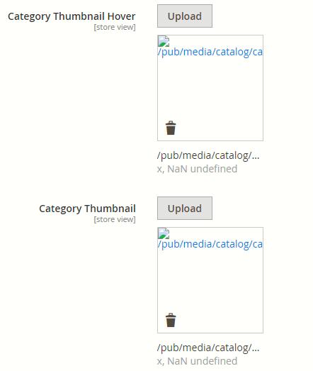 screenshot after uploading